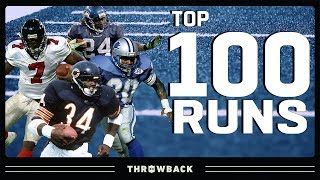 Top 100 Runs in NFL History!