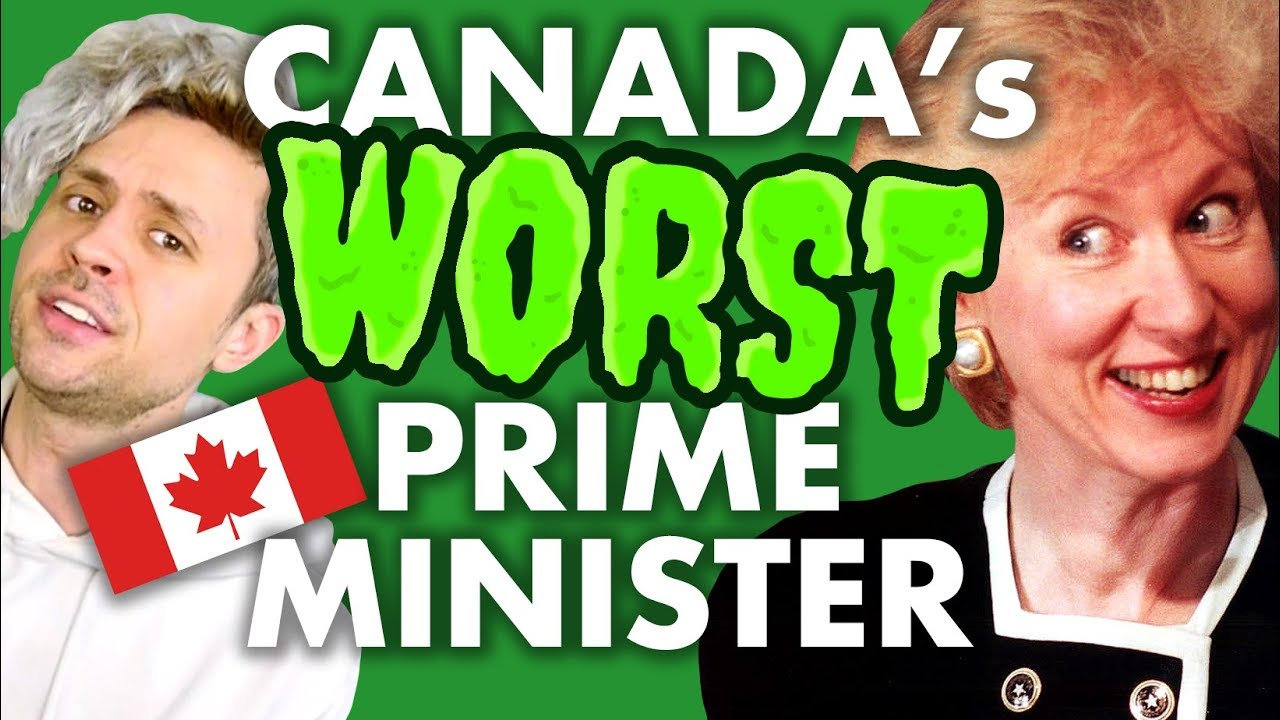 Kim Campbell, Canada's WORST prime minister
