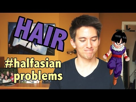 Half Asian Problems: No One Can Cut My Hair? | DBZ Halfies