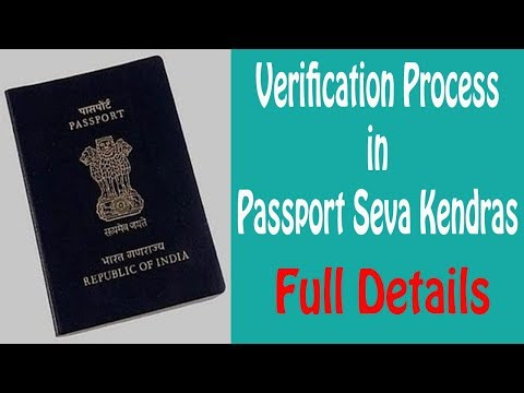 Passport verification process in passport seva kendra | ShoutMe360
