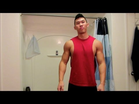 MAKE A CUT-OFF MUSCLE TANK - Life After College Vlog: Ep. 119