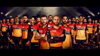 SunRisers Hyderabad Full Team Anthem 2019 | #SRH Anthem | #OrangeArmy Anthem | SunRisers Hyderabad