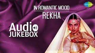 Popular Romantic Songs of Rekha   In Ankhon Ki Masti   Audio Jukebox