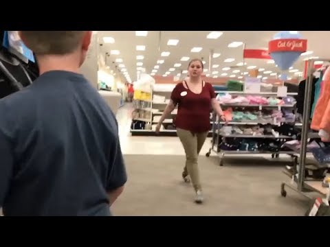 TRYING TO GET KICKED OUT OF TARGET MANAGER RAGED