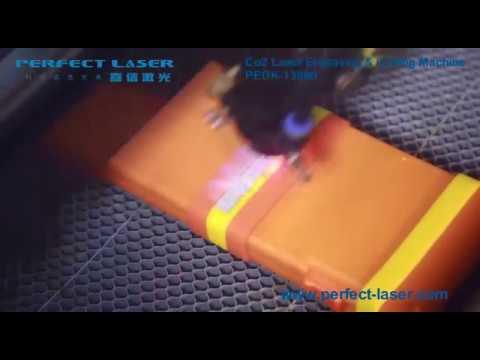 80w 100w 130w 150w CO2 Laser Engraver & cutter on rubber paper acrylic