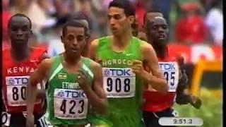 World Champs 5000m Final, Paris, 2003.