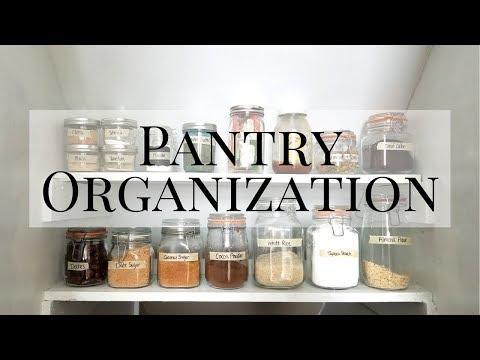 Pantry Organization & Tour | Organize With Me | Minimalist Living