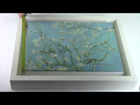 Canvas Floater Tray Frame Assembly | Strand Framing