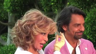 """Eugenio Derbez """"enamora"""" a Raquel Welch"""