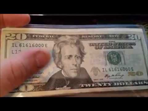 Fancy Serial Number Notes and Recent Finds - Rare Bills to Look for While Searching Money