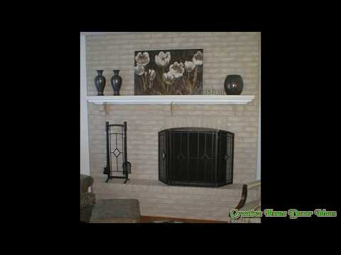 Painting Fireplace Brick