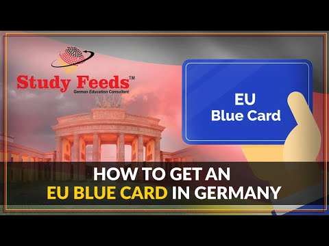 How to get an EU Blue Card in Germany | how to be a permanent resident in Germany