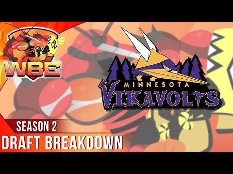 DRAFT BREAKDOWN! MINNESOTA VIKAVOLTS - WBE Season 2