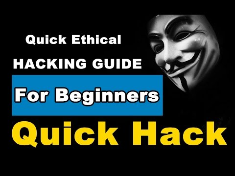 Quick Hack - My New Ethical Hacking Course | Register Now