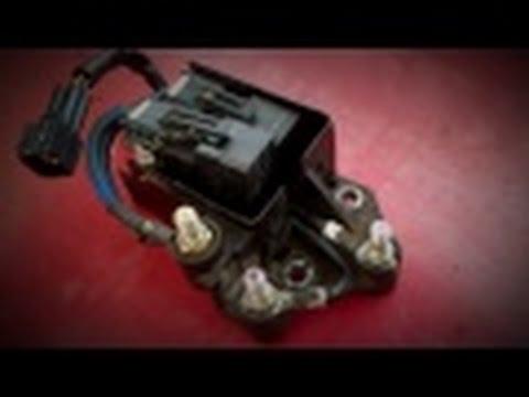 2001-2004 Duramax LB7 P0380 Code, Glow Plug Relay,  Detailed Troubleshooting and Repair