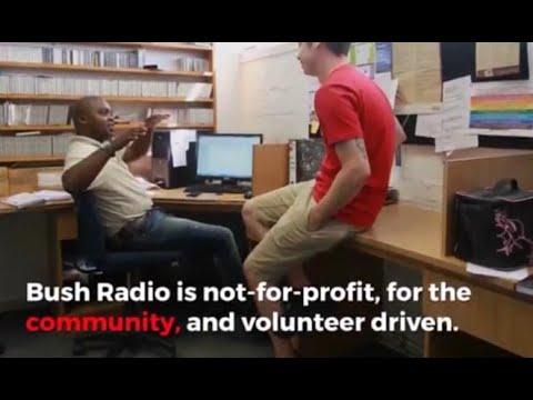 Keep Bush Radio moving forward