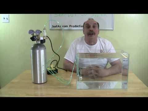 Semi DIY Aquarium CO2 System