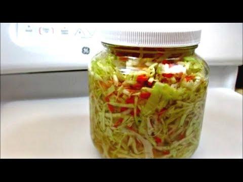 Curtido Recipe - Pickled Cabbage for Pupusas