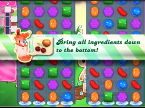 Candy Crush Saga Level 76 walkthrough (no boosters)