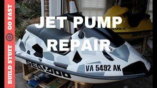Jet Ski tear down part 2 - How to remove the Jet pump - PakVim net