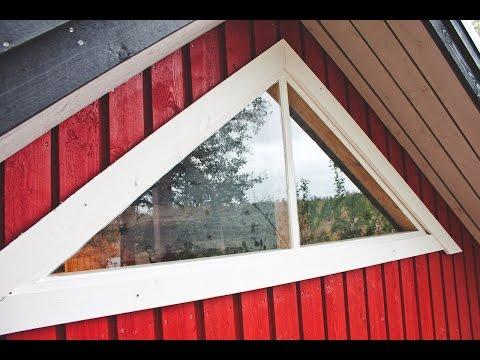Building a Triangular Window