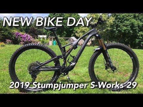 JC TRAILS 2019 Specialized Stumpjumper 29 S-Works Bike Check | NEW BIKE DAY!
