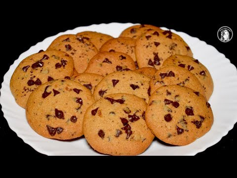 Easy Chocolate Chip Cookies by Kitchen With Amna