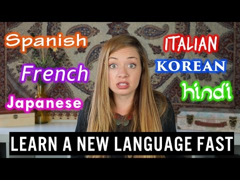 How to Learn a Language Quickly