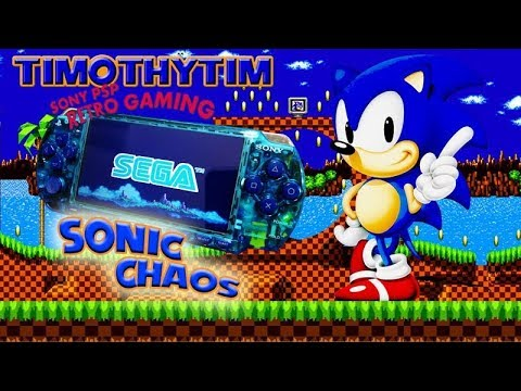 Sonic Chaos Custom 128gb PSP