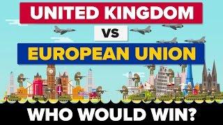 United Kingdom vs European Union (UK VS EU) 2017 - Who Would Win? Brexit / Military Comparison