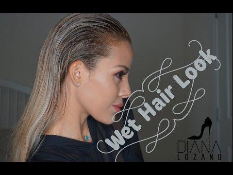 Wet Hair Look - Peinado 👱🏼♀️