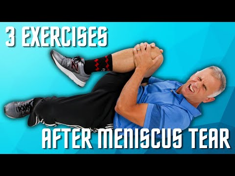 Top 3 Exercises after a Meniscus Tear in Your Knee (Cartilage)