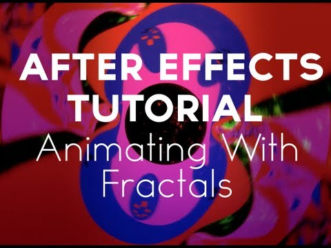 (Free Tutorial) Animating Fractals in Adobe After Effects