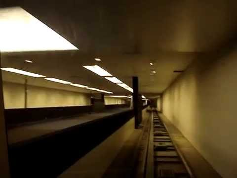 Subway Train Ride from Terminal C to Marriott Hotel at George Bush Intercontinental Airport