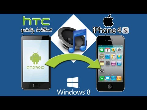 HTC to iPhone 4S [Music Transfer]: How to Transfer All HTC Music Files to iPhone 4S Easily