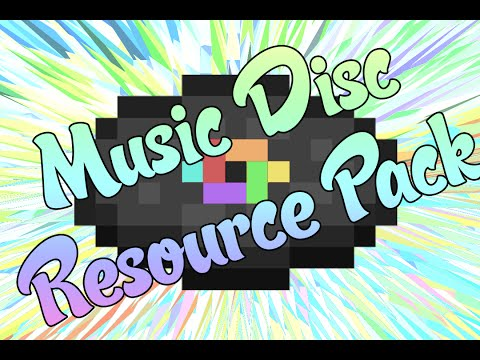 Minecraft : How To Change Your Music Discs Resource Pack in 1.8, 1.9, 1.10+