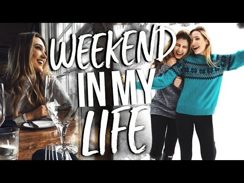 WEEKEND IN MY LIFE | Girls Weekend Away From College