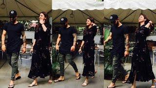 Anushka Sharma And Virat Kohli At Romantic Lunch Date In Bengaluru
