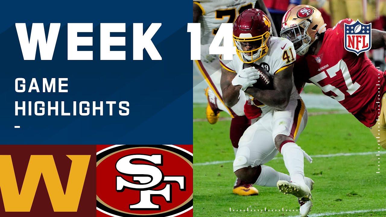 Washington Football Team vs. 49ers Week 14 Highlights   NFL 2020