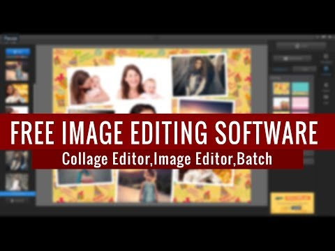 Free Photo Editor : Photo Collage | Photo Effects | Fx Presets | Batch Exporting