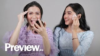 Download Andrea Brillantes and Francine Diaz Remove Their Makeup | Barefaced Beauty | PREVIEW Video