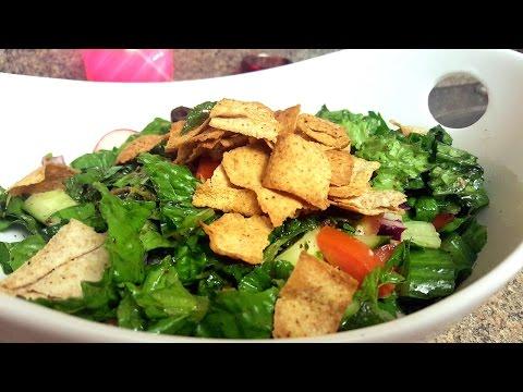 Fattoush Salad (Lebanese Salad) | Quick & Delicious Cuisine