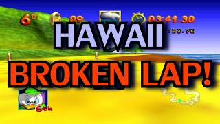 MSUSA - Hawaii - BROKEN LAP! 00:25:93 (GLITCH)