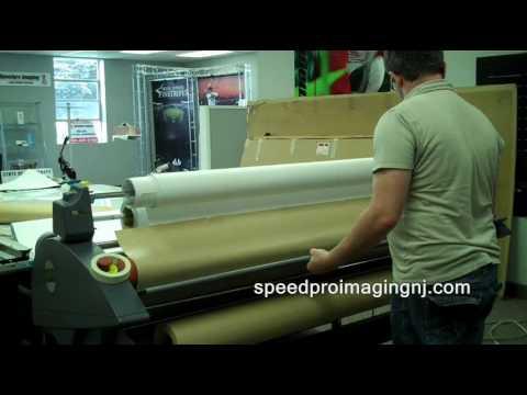 Large Format Laminate Printing - Speedpro NJ