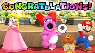 Mario Party 9 Step It Up ◆Peach, Birdo and Mario vs Daisy Master No Damage #619