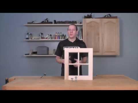 Infinity Cutting Tools - Window Sash Jr. Router Bit Set