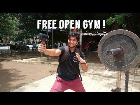 FREE OPEN GYM IN MUMBAI VLOG