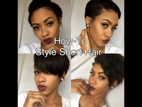 How-To 5 Styles For A Pixie Cut