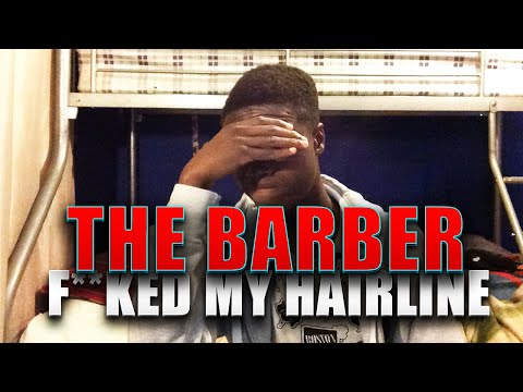 KID goes to barbers and they FU*KED UP his HAIRLINE (Funny) *NOT CLICKBAIT*