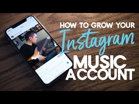 Grow Your Instagram Music Account in 2018 | Instagram Tips
